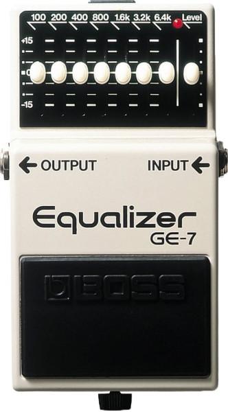 Boss GE 7 Equalizer Effektpedal
