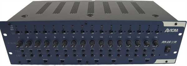 Aviom - AN-16/i-M 16-Kanal Mic Input Modul (B-Ware) B-Ware