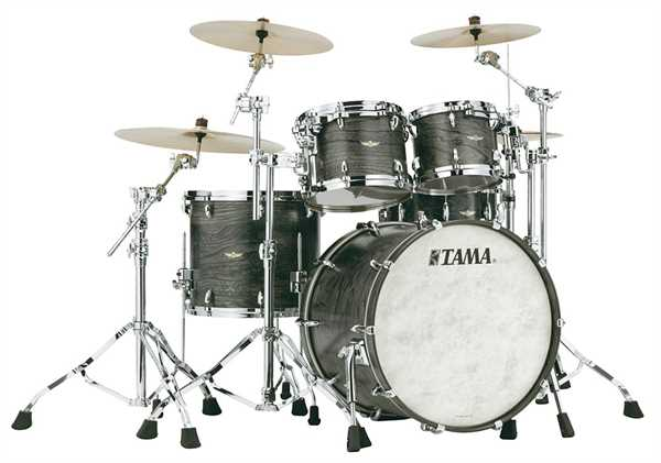 Tama STAR Walnut 4-tlg. Shell Set Satin Charcoal
