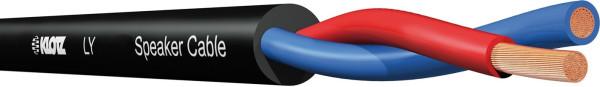 Klotz LY215S Lautsprecherkabel schwarz -m-