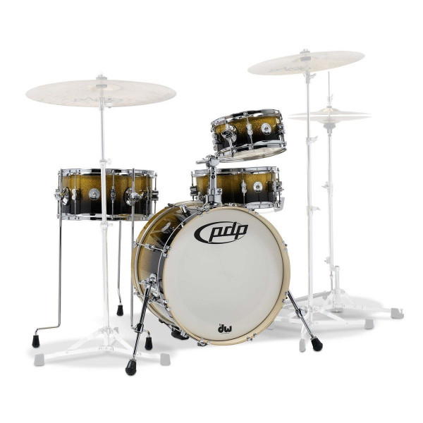 DW PDP Daru Jones Signature Drum-Set Bundle