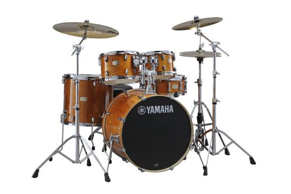 Yamaha SBP2F5HA Stage Custom Birch Shell Set Honey Amber