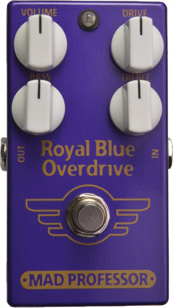 Mad Professor Royal Blue Overdrive Factory Pedal