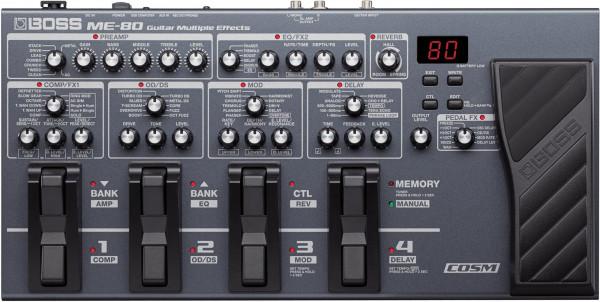 Boss ME 80 Gitarren Multieffekt-Prozessor