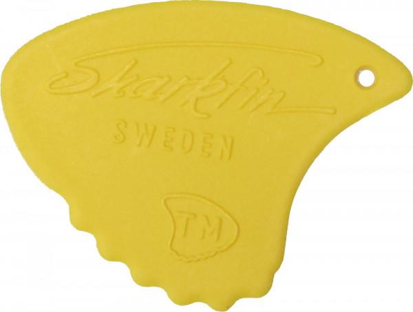Sharkfin Plektrum 0,65 gelb Sweden Relief