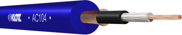 Klotz AC 104 BL Instrumentenkabel blau -meter-