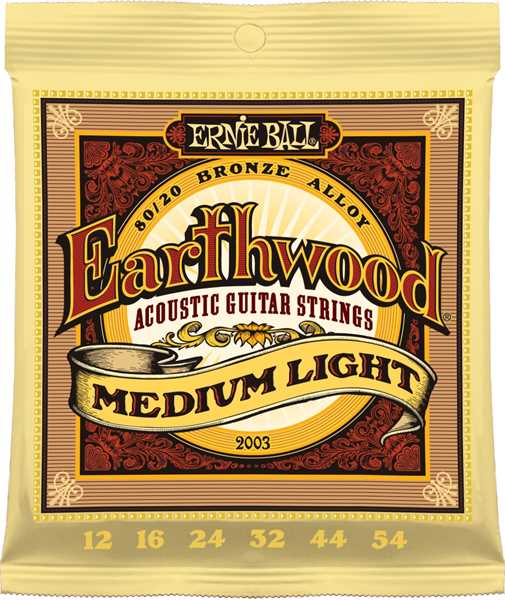 Ernie Ball Earthwood Bronze Medium-Light 012 - 054