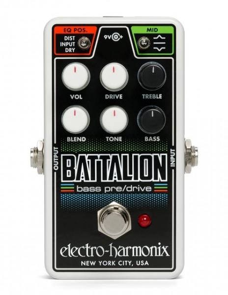 Electro Harmonix Bass Nano Battalion