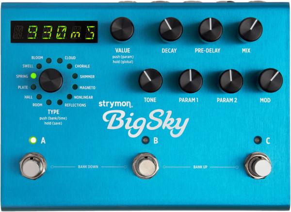 Strymon Big Sky Multi Reverb Pedal
