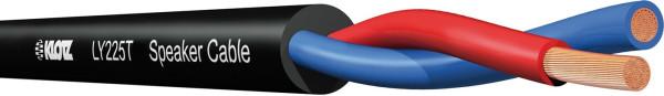 Klotz LY225T Lautsprecherkabel schwarz