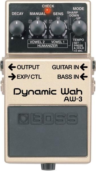 Boss AW 3 Dynamic Wah Effektpedal