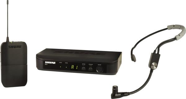 Shure BLX14E/SM35 S8 Headset-System