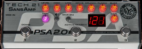 Tech 21 SansAmp PSA 2.0 Preamp Pedal