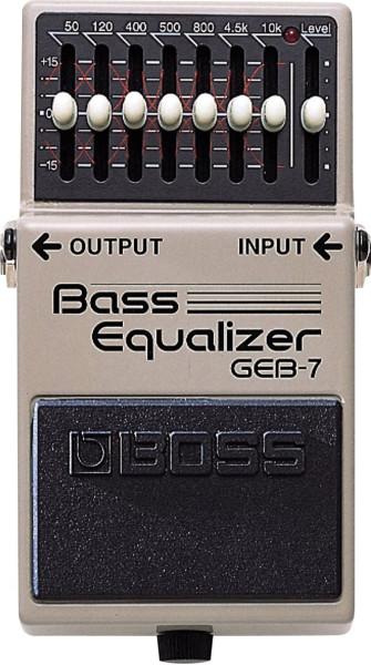Boss GEB 7 Equalizer Bass Effektpedal