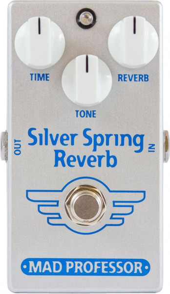Mad Professor Silver Spring Reverb Factory Pedal