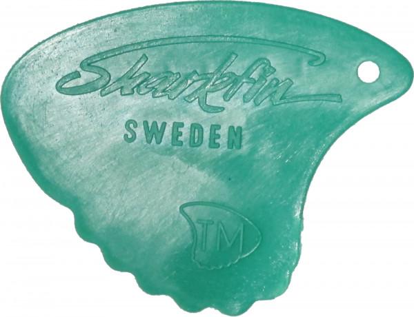 Sharkfin Plektrum 0,35 grün Sweden Relief