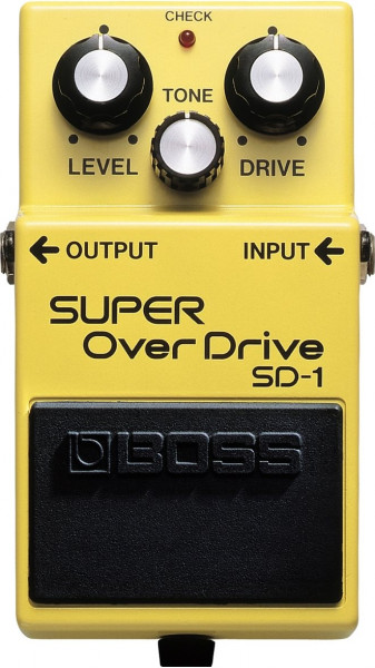Boss SD 1 Super Overdrive Effektpedal