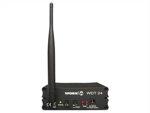 Work Pro WDT24 2.4GHz Audio-Sender
