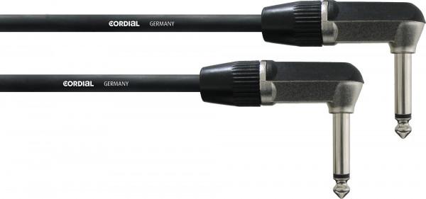 Cordial CFI 0,3 RR 0,3 m Winkelklinke-Winkelklinke 6,3mm mono