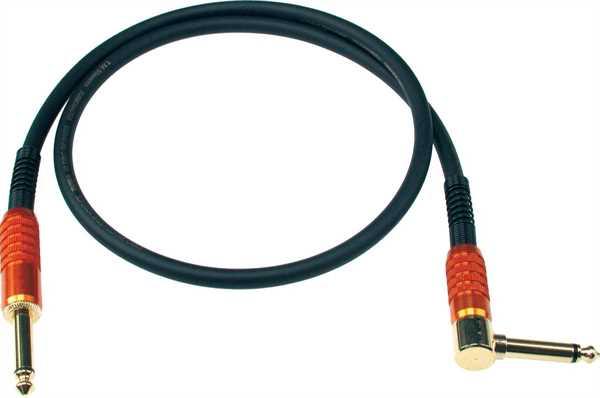 Klotz Stevens Patch Kabel 0,6m schwarz 1 Gerade/ 1 Winkel