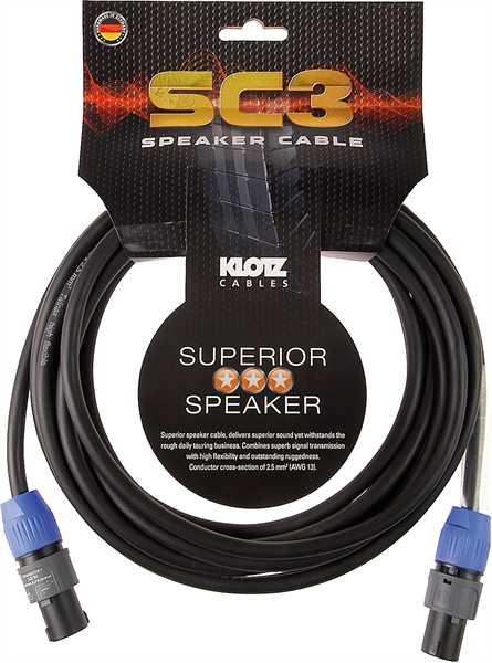 Klotz SC3 05 5m Speakerkabel Speakon 2x2,5mm²